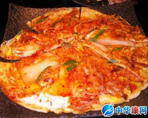 泡菜饼的做法大全_【韩国泡菜饼】韩国泡菜饼怎么做_韩国泡菜饼的做法介绍_中华康网