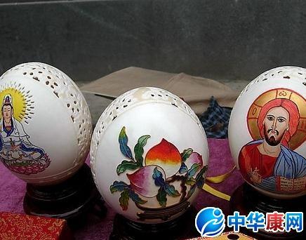 鸡蛋壳布丁 鸡蛋壳粘贴画 鸡蛋壳粘贴画