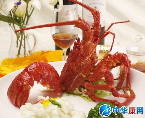 如何正确吃大龙虾图解_
