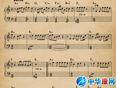 怎么样看曲谱-琴谱怎么看